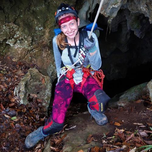 Gabi Serrato Marks: stalagmite paleoclimatologist and patient advocate