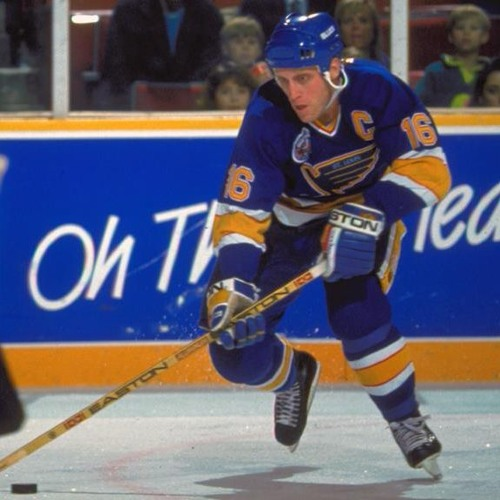 Brett Hull was on the Power Play with Kouleas and Barnaby