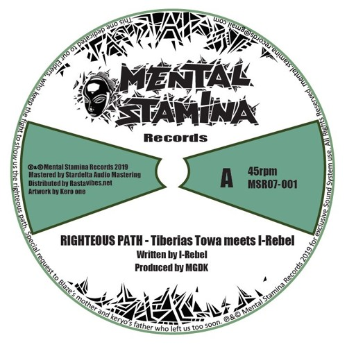 Tiberias Towa meets I-Rebel - Righteous Path + Dub - Preview - MSR07 - 001