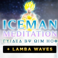 ⛰😤🐉 Breathwork Meditation - 3 Rounds Guided By Wim Hof with Ocean, Wind and Lambda Waves🌌💛🌠