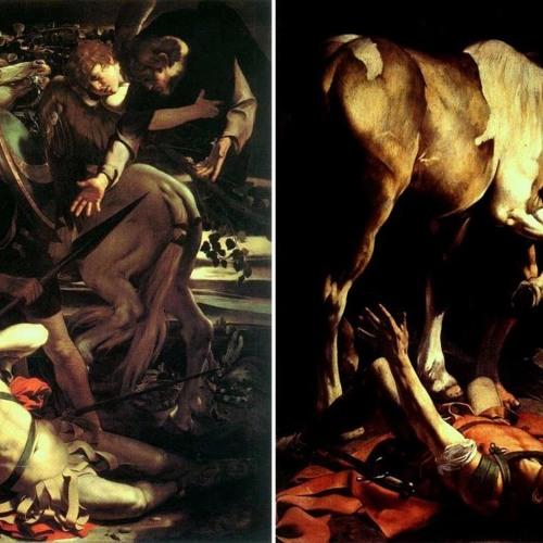 Caravaggio tradito Cappella Cerasi (Lonardo Sara Magister)