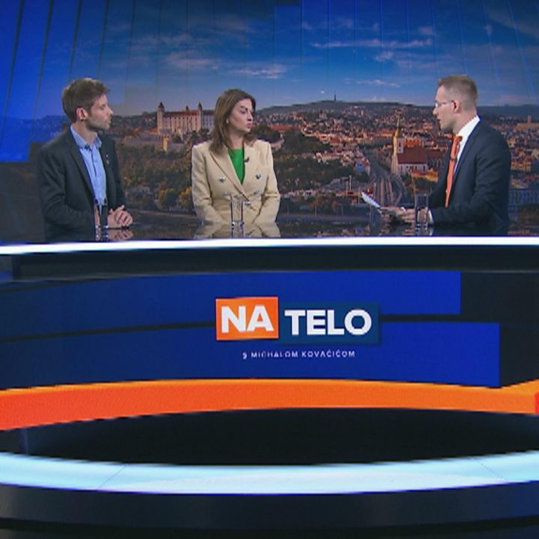 Monika Beňová, Michal Šimečka, Lucia Nicholsonová,Alojz Hlina (26. 5.