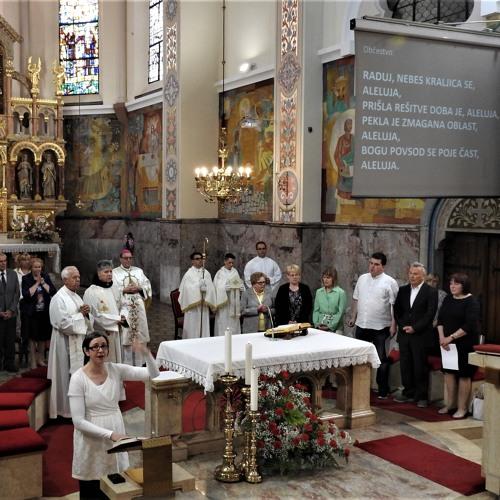 Prisluhni sveti maši na 10. zahvalnem dnevu slepih in slabovidnih Slovenije