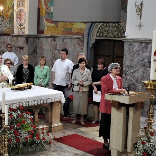 Prisluhni uvodu v sveto mašo na 10. zahvalnem dnevu slepih in slabovidnih Slovenije