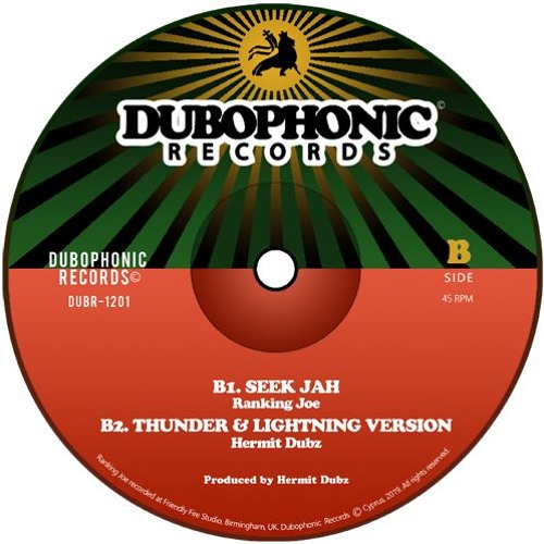 Ranking Joe, Hermit Dubz - Seek Jah + Thunder & Lightning Version