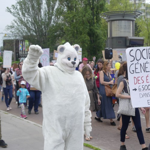 6ème Marche pour Le Climat à Strasbourg à la veille des Élections Européennes
