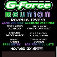 G-Force Reunion Newshy Kennedy Will-E-B Ave MC EM:DMC Jonesy MC Coopy
