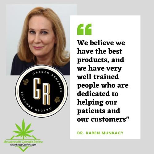 MassCanRev Audio Experience - Interview With Dr Karen Munkacy of Garden Remedies