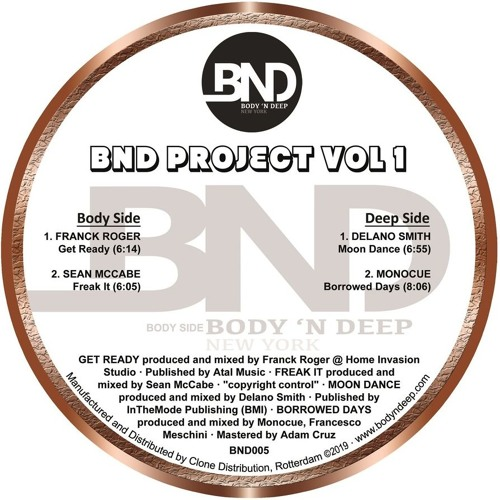 BND005 BND Project Vol 1 by Body '