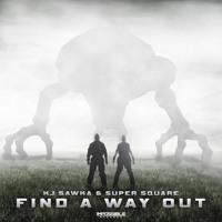 KJ Sawka & Super Square - Find A Way Out - Impossible Records Artwork