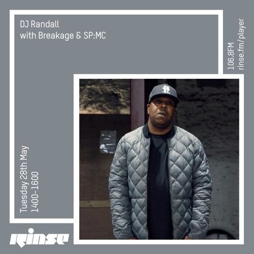 DJ Randall with Breakage & SP:MC  - 28th May 2019