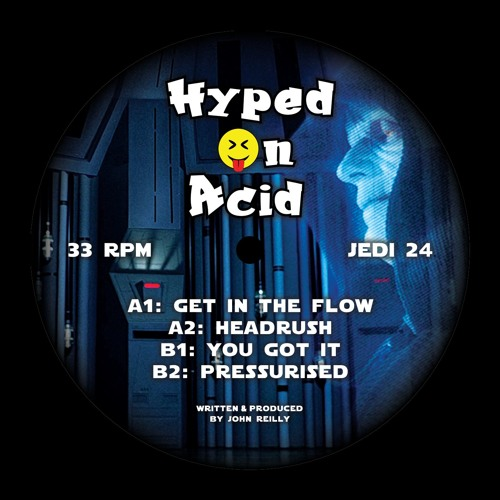 Jedi Recordings #24: Hyped On Acid (128k Preview Clips)