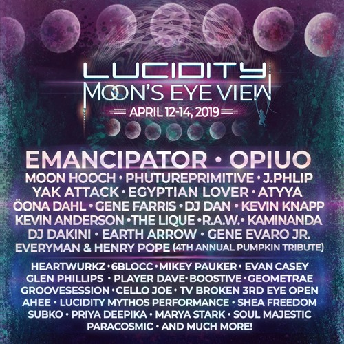 Lucidity 2019 - Nook Stage