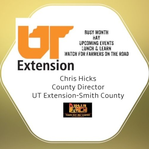 May 29 2019 Chris Hicks UT Extension by 104 1 The Ranch on