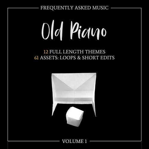 Old Piano - Volume 1   Game Music Collection