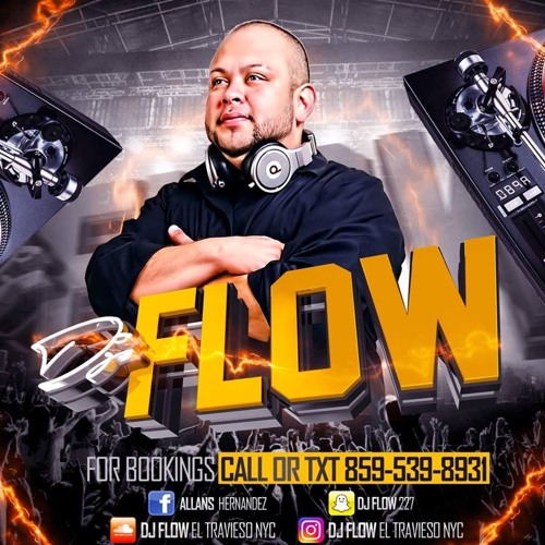 DJ FLOW EL TRAVIESO NYC ROCK MIX 80' 90' VOL. 1