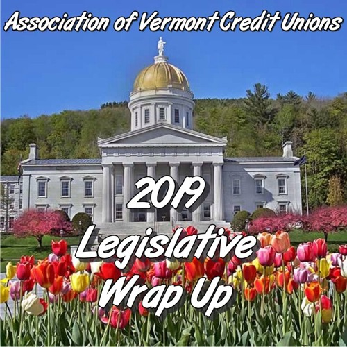 AVCU's 2019 Vermont Legislative Wrap Up