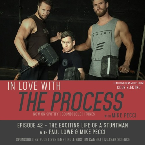 EP42 | The Exciting Life of a Stuntman (Guest Paul Lowe)