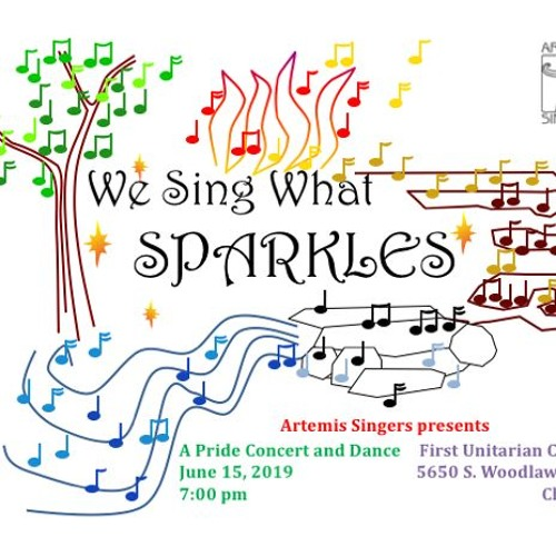 We Sing What Sparkles on WCPT 820 AM Art of the City