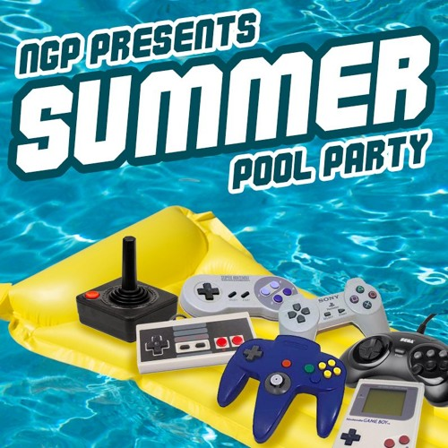 Summer Pool Party Announcement