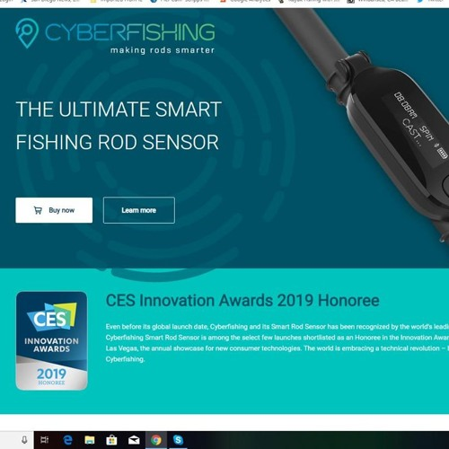 CyberFishing Joins The Kayak Fishing Show With Jim Sammons LIVE