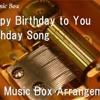 Happy Birthday to You Birthday Song [Music Box]