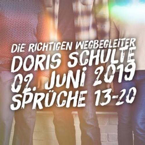 Die richtigen Wegbegleiter - Doris Schulte - 20190602