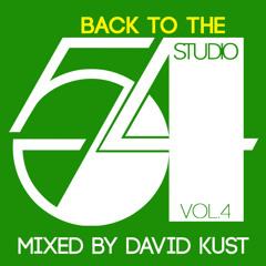 Back to the Studio 54 Vol.4 Live Mix