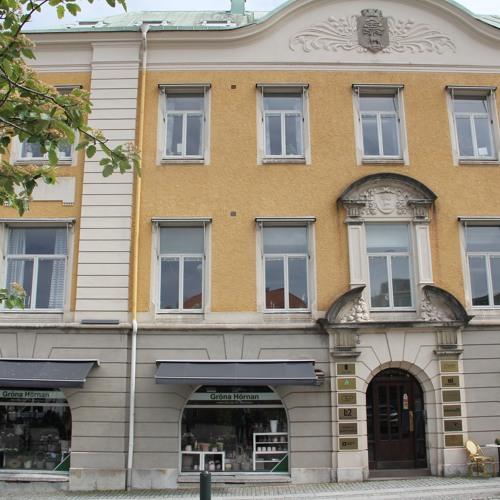 Jubileumssändning nr 18b. Stadsvandring i 1800-talets Alingsås med Simon Waern, del 2