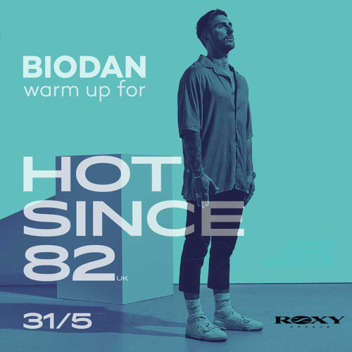 warm up for Hot Since 82 @ Roxy Prague (May 31, 2019)
