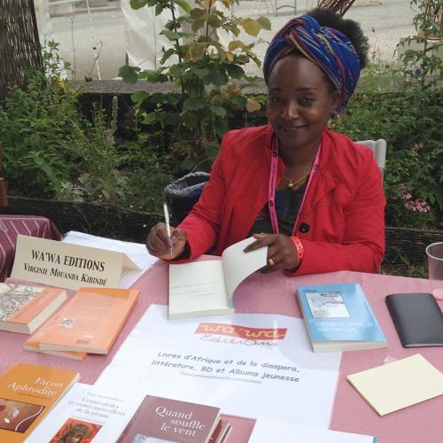 """Virginie Mouanda : """"transmettre le gout d'une Afrique heureuse et vivante"""""""