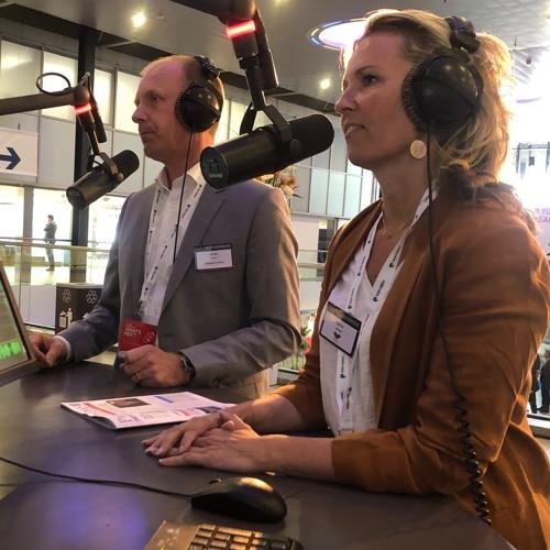 Michel Baars En Sabine Schoorl over TechMorrow