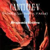 """Britten Canticle V """"The Death of St. Narcissus"""""""