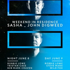 Tristan Case - A Weekend in Residence Sasha & Digweed