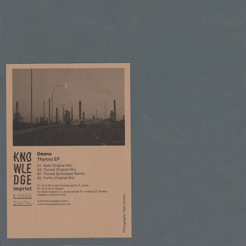 Deano - Thyroid EP [K-I006] (Previews)