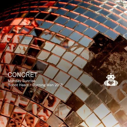 Concret - Robot Heart - Burning Man 2018