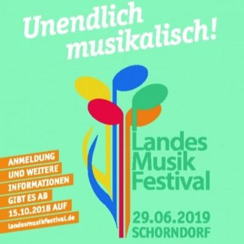 Landes-Musik-Festival 2019: Programm und Benefizaktion