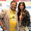 Hrishi K with Shilpa Shetty - App launch