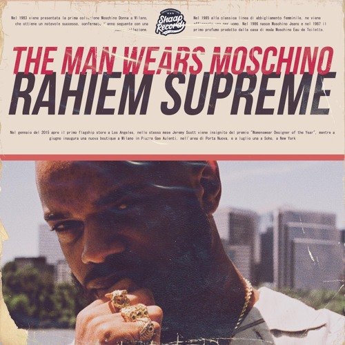 THE MAN WEARS MOSCHINO (EP) @SHAAPRECORDS