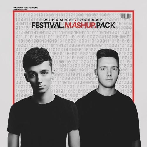 Crunkz x WeDamnz - Festival Mashup Pack 2019 (14 Mashups) [SUPPORTED BY MESTO & SAM FELDT]