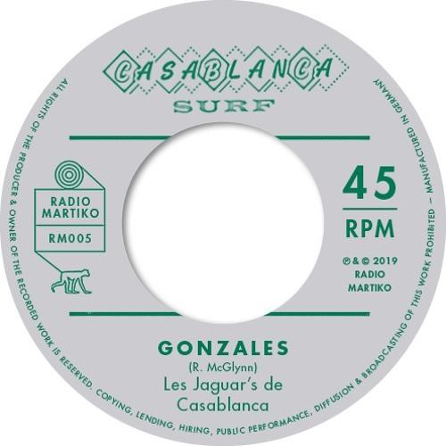 New release RM005 - Les Jaguar's de Casablanca - Gonzales (Casablanca Surf)