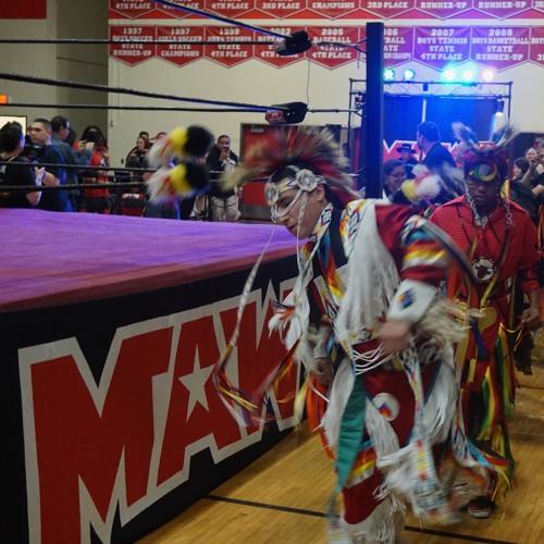 Wrestlers Body Slam Domestic Violence