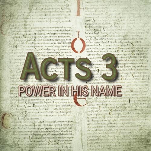 Acts 3 (preacher: Paul Jackson)
