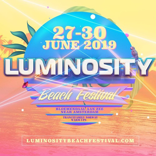 Luminosity Beach Festival 2019 - TFNorway Warmup - Friday Mixed By Skoen