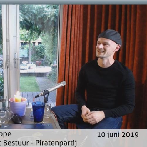 20190610 Renko Koppe Kandidaat Bestuur Piratenpartij