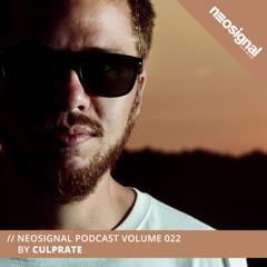 Neosignal Podcast Volume 022   Culprate