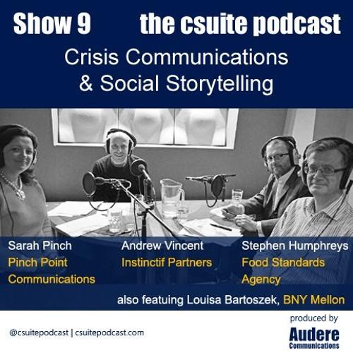 Show 9 - Crisis Communications & Social Storytelling