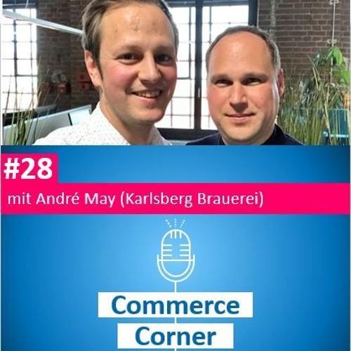 Commerce Corner #28 mit André May (Karlsberg Brauerei)