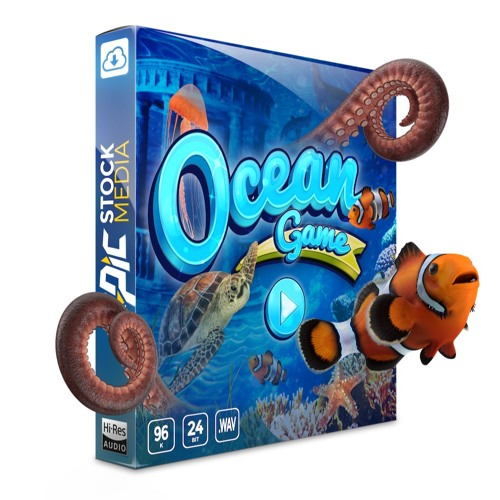 Ocean Game - Underwater Adventure Game Sound Effects Library by Epic