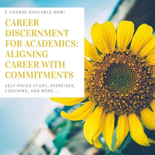 What Is Career Discernment -- Audio Recording of Blog Post 6.7.19